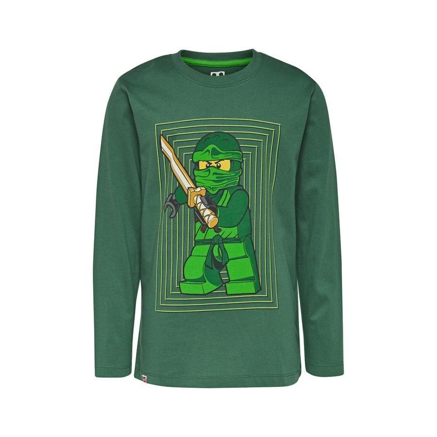LEGO wear  Koszulka z długim rękawem LEGO Ninjago Ninja Dark Green