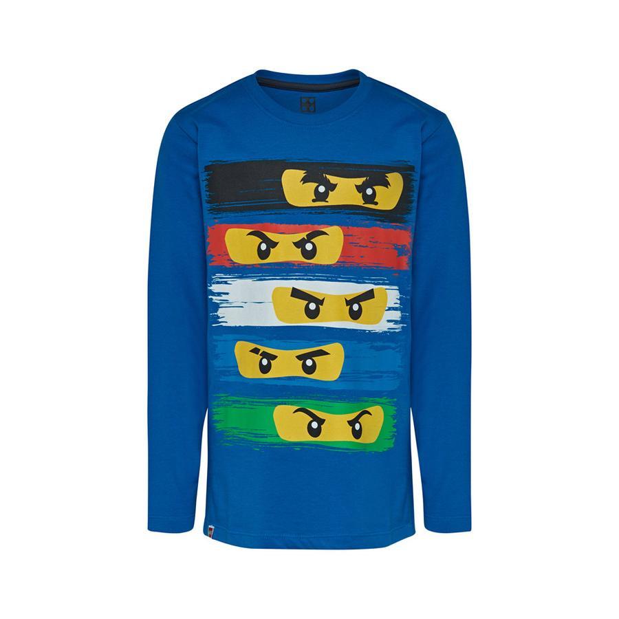 LEGO wear Langarmshirt LEGO Ninjago Ninja Masken Blue