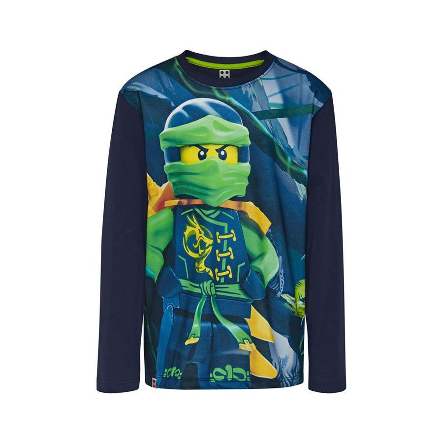 LEGO wear  Koszulka z długim rękawem LEGO Ninjago Navy Blue