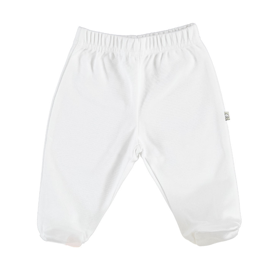 EBI & EBI spodnie romper pants czyste białe