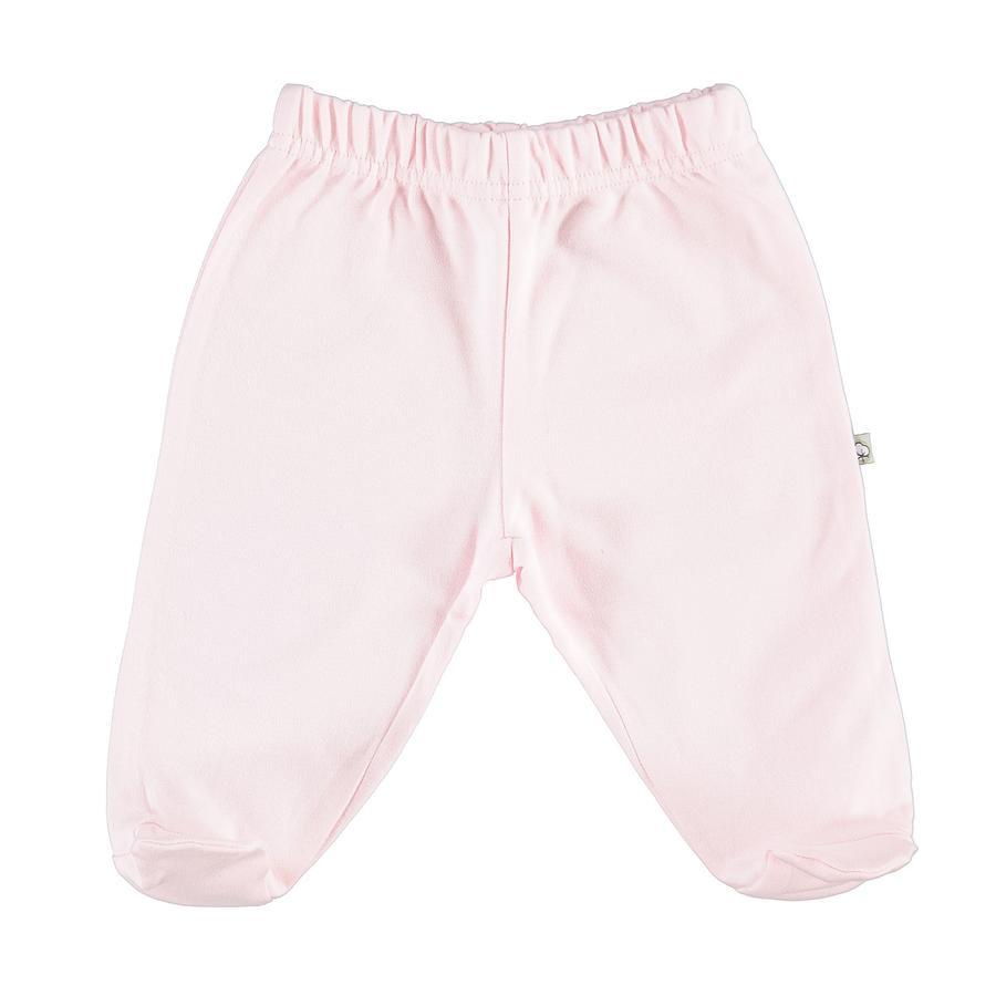 Pantalones de peluche EBI & EBI rosa pálido