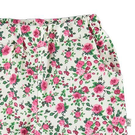 Pantalón de algodón EBI & EBI con estampado rosa