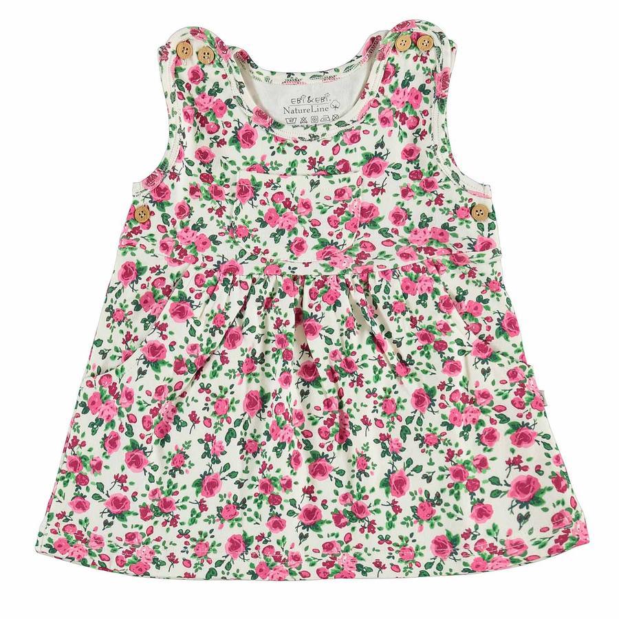 Vestido EBI & EBI flor rosa