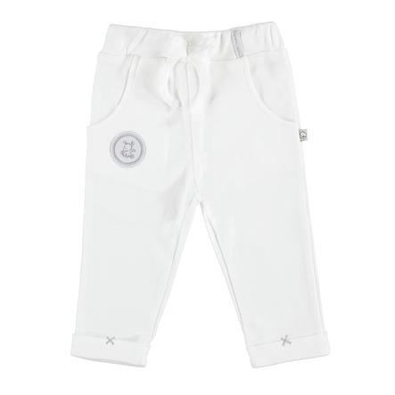 Pantaloni EBI & EBI bianco puro