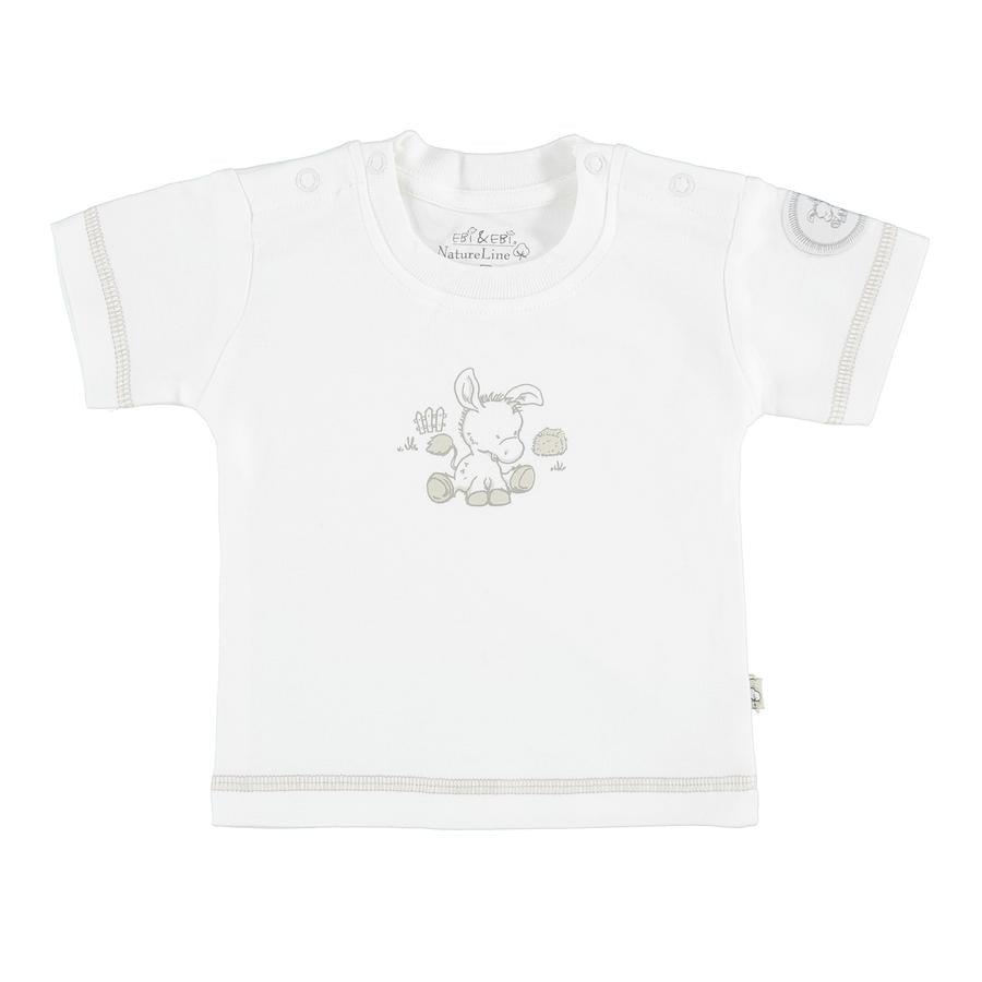 EBI & EBI âne T-Shirt blanc pur