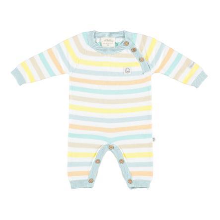 Combinaison tricotée EBI & EBI bleu pâle pastel clair