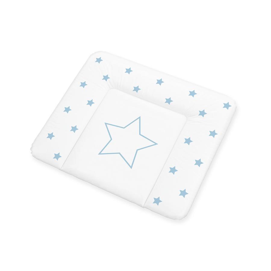 Pinolino Matelas à langer confort étoiles bleu 85x72 cm
