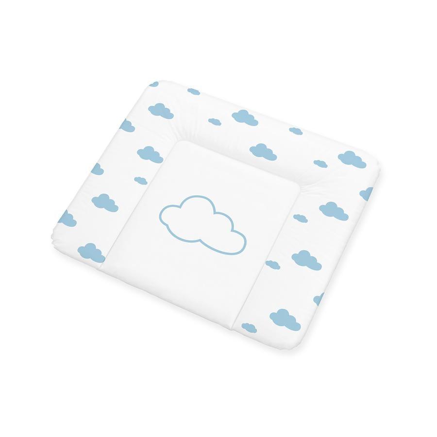 Pino lino Colchoneta cambiador lámina de confort pequeña nube azul claro