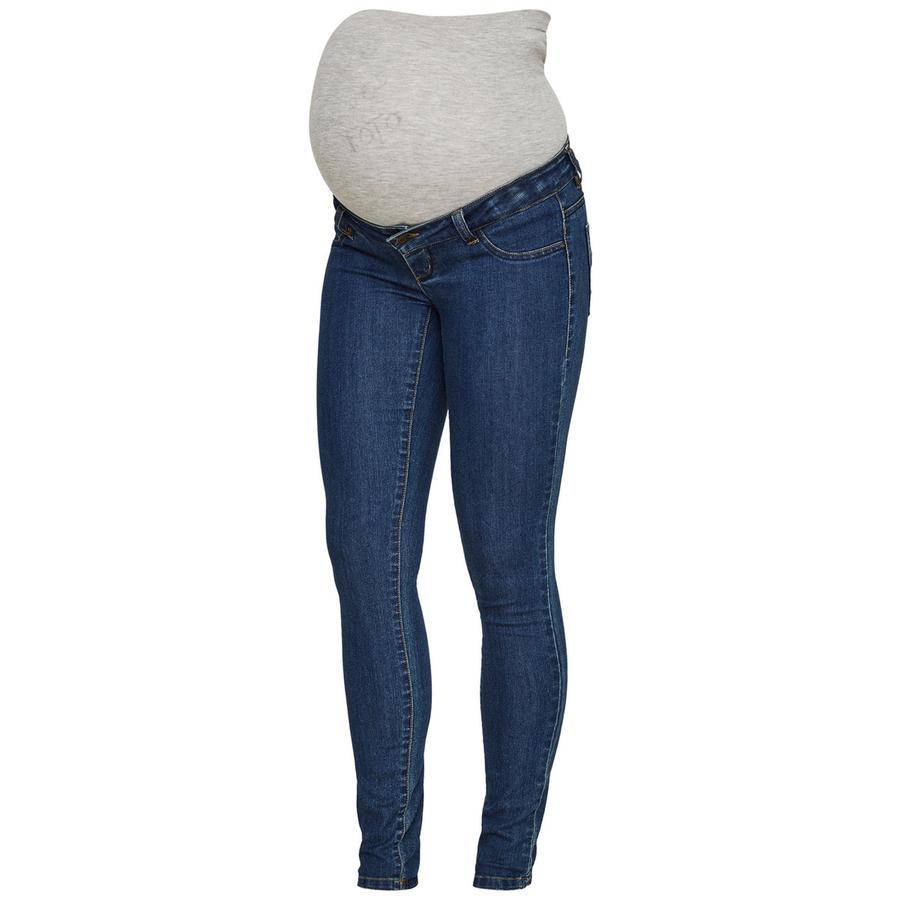 mama licious Jeans maternità MLJULIA denim blu scuro denim