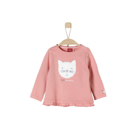 s.Oliver T-shirt enfant manches longues dusty pink