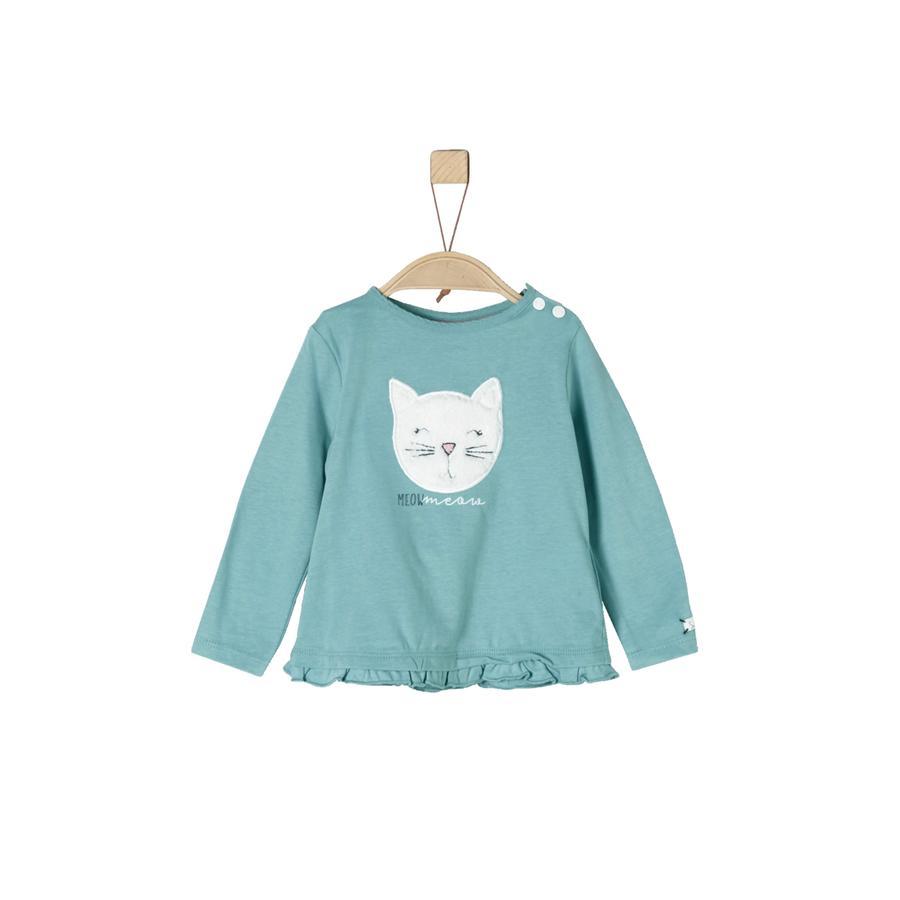 s.Oliver Girls Langarmshirt turquoise