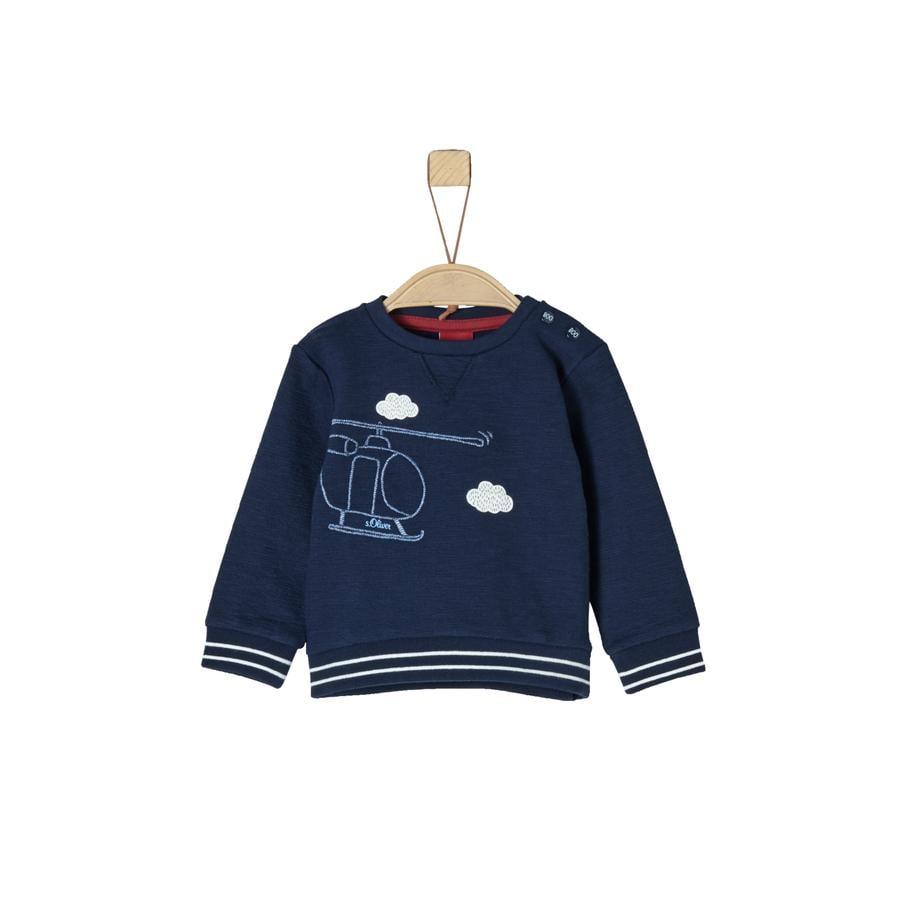 s.Oliver Boys Sweatshirt donkerblauw