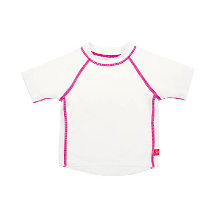 LÄSSIG Splash & Fun Bade-Tshirt Uni white