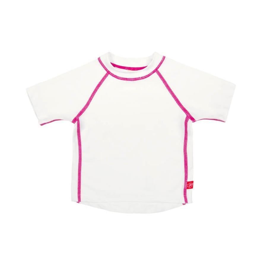 LÄSSIG T-shirt de bain Splash & Fun, blanc uni