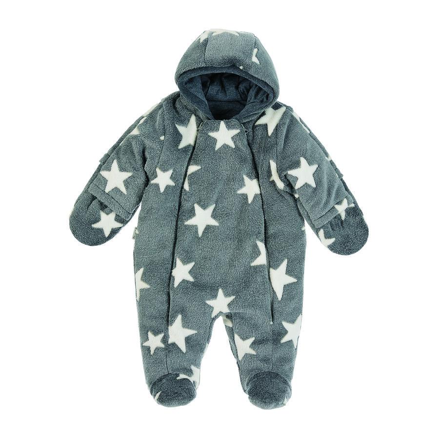Sterntaler Stjerne jumpsuit med hætte