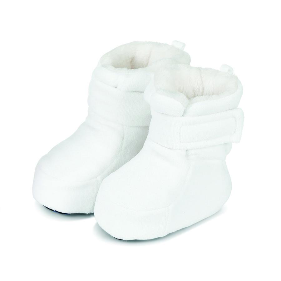 Sterntaler Baby-Schuh Microfleece ecru