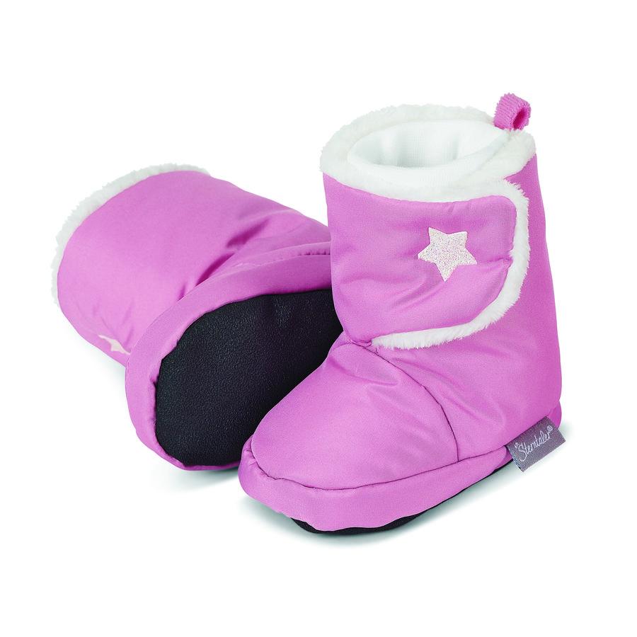 Sterntaler Girl s Chaussure de bébé perle rose