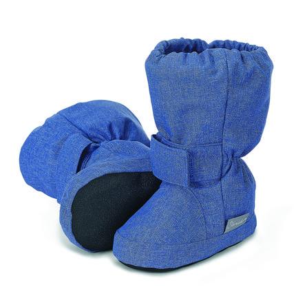 Sterntaler Baby-Schuh tintenblau melange