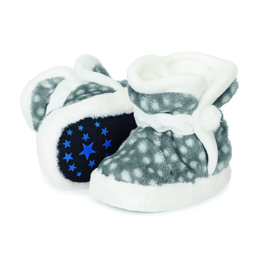 Sterntaler Baby Shoe Teddyflausch wędzony szary