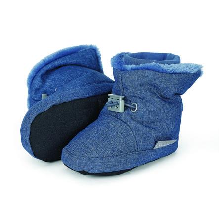 Sterntaler Boys Baby-Schuh tintenblau melange