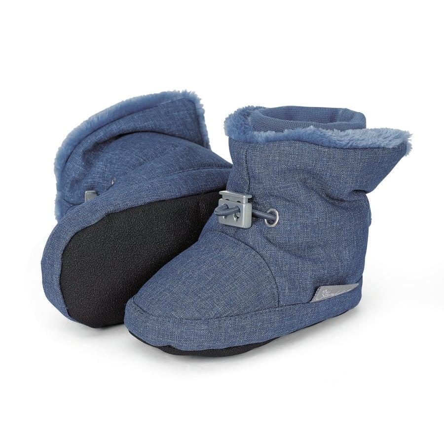 Sterntaler Boys Baby Shoe ink blue melange
