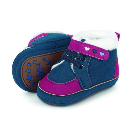 Sterntaler Girl s baby shoe navy