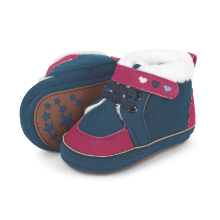 Sterntaler Girl s baby shoe shoe navy