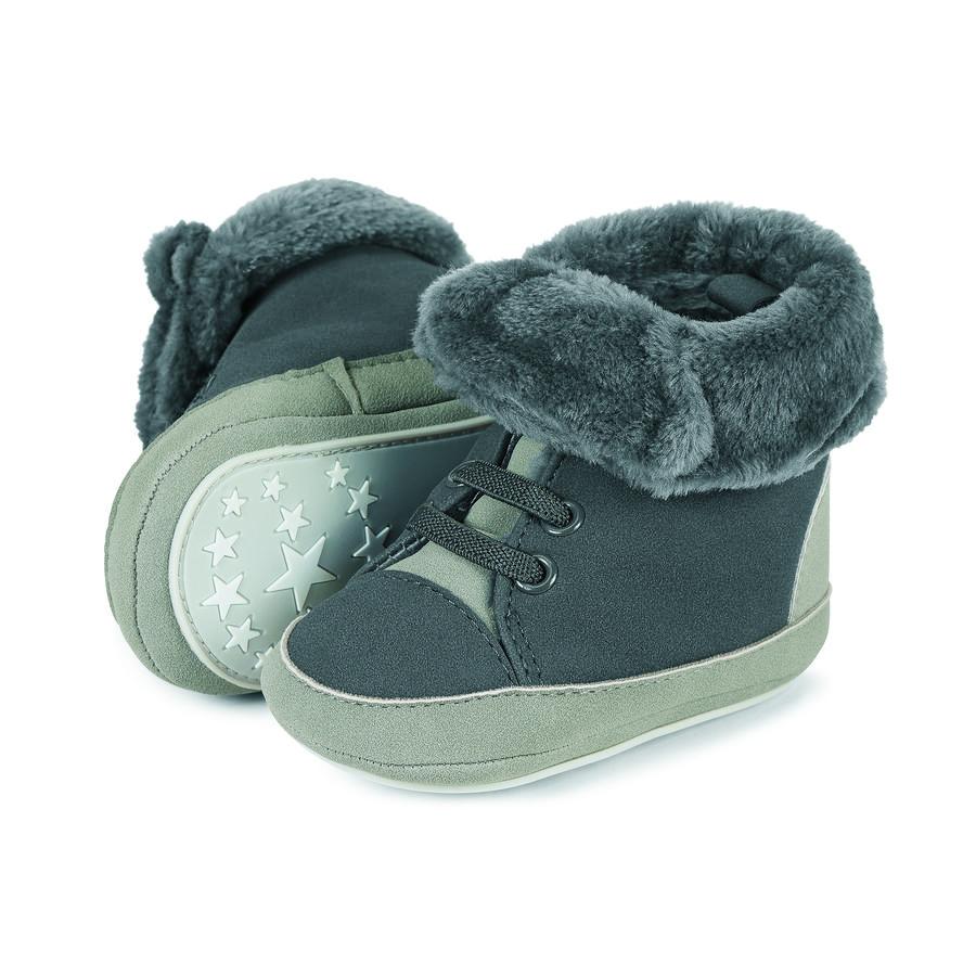 Sterntaler Boys Buty dla niemowląt szare jak buty żeliwne