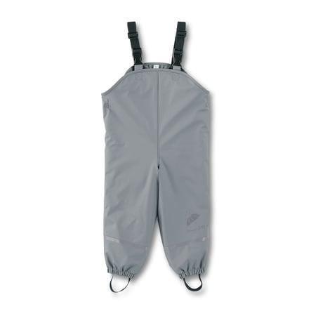 Sterntaler Pantalon à bretelles enfant doublé gris fumé