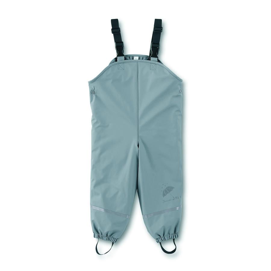 Sterntaler Boys spodnie z nosidełkiem przeciwdeszczowym wyłożone szarym kolorem dymu
