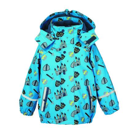 Sterntaler Boys Rainjacket con giacca interna blu