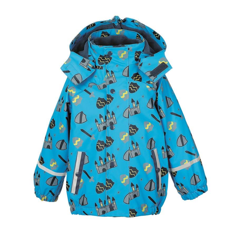 Sterntaler Boys Chaqueta de lluvia con chaqueta interior azul