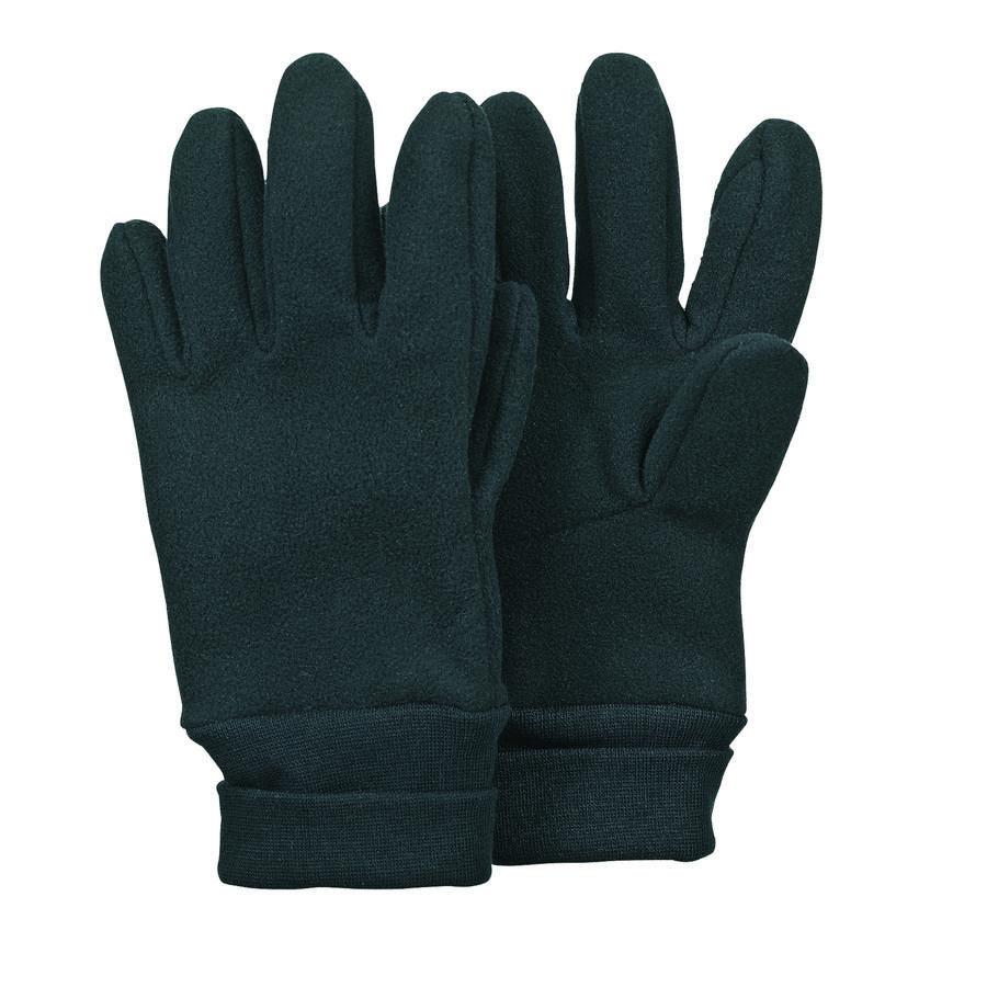 Sterntaler Boys Fingerhandschuh Micofleece schwarz