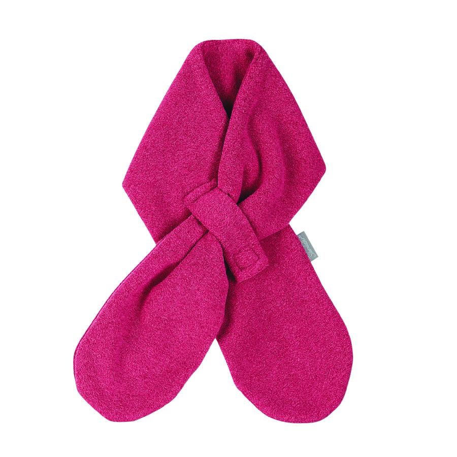 Sterntaler Girl s Sciarpa in micropile rosso bacca melange melange