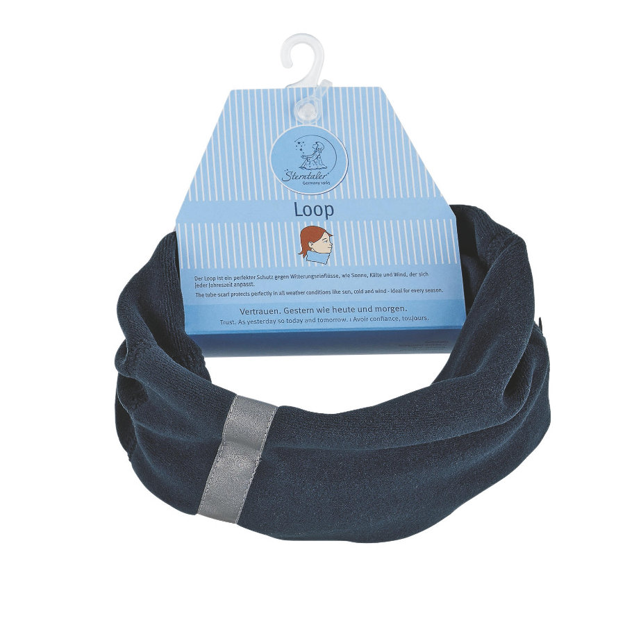 Sterntaler Boys Echarpe foulard Microfleece marine