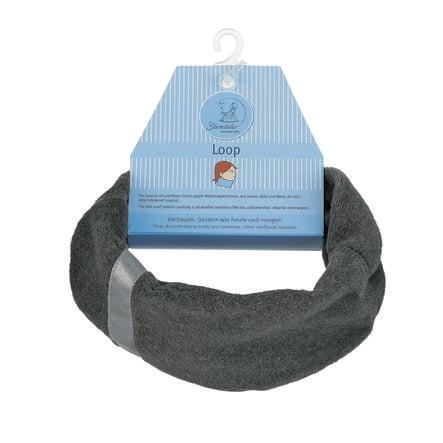 Sterntaler Boys slip sjaal Microfleece antraciet antraciet