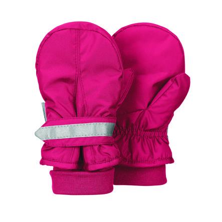 Sterntaler mitten cotone pile di cotone rosso bacchetta