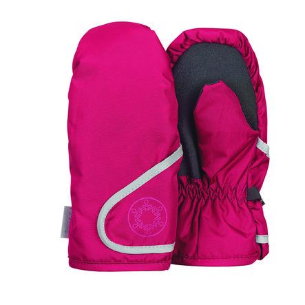 Sterntaler Girl s vuisthandschoen met warme voering bessenrood