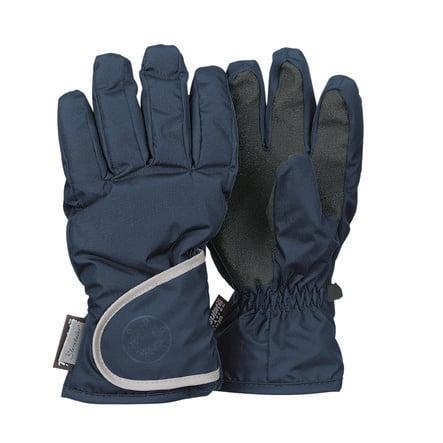 Sterntaler fingerhandske med tryck marin