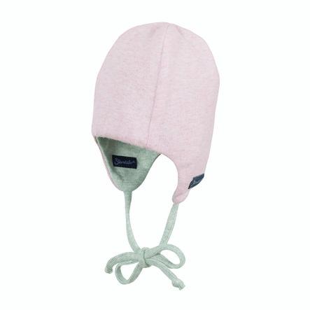 Sterntaler Gorra reversible rosa pálido