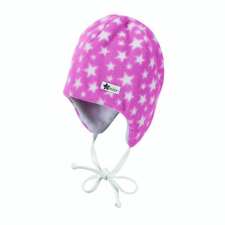Sterntaler Cap Microfleece parelmoer roze