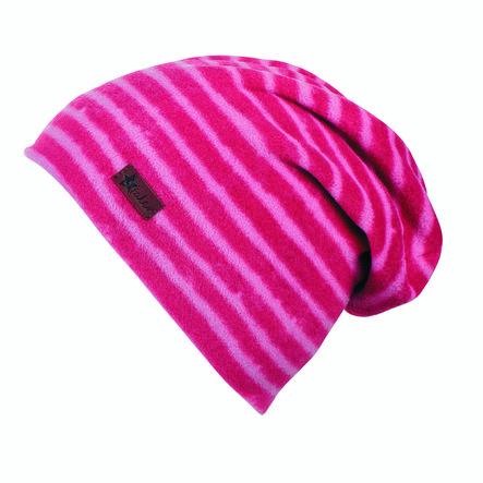 Sterntaler Slouch-Beanie Microfleece bessen rood