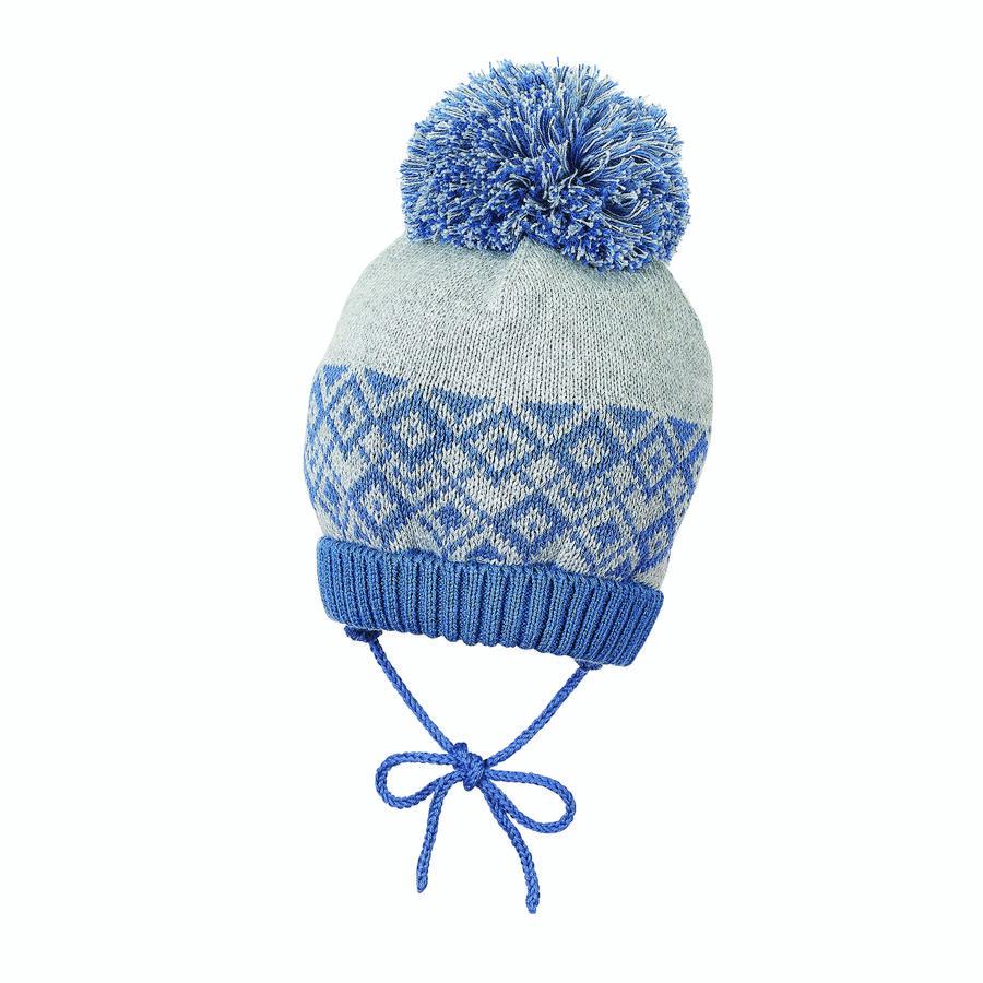 Sterntaler pletená čepice inkoustově modrá