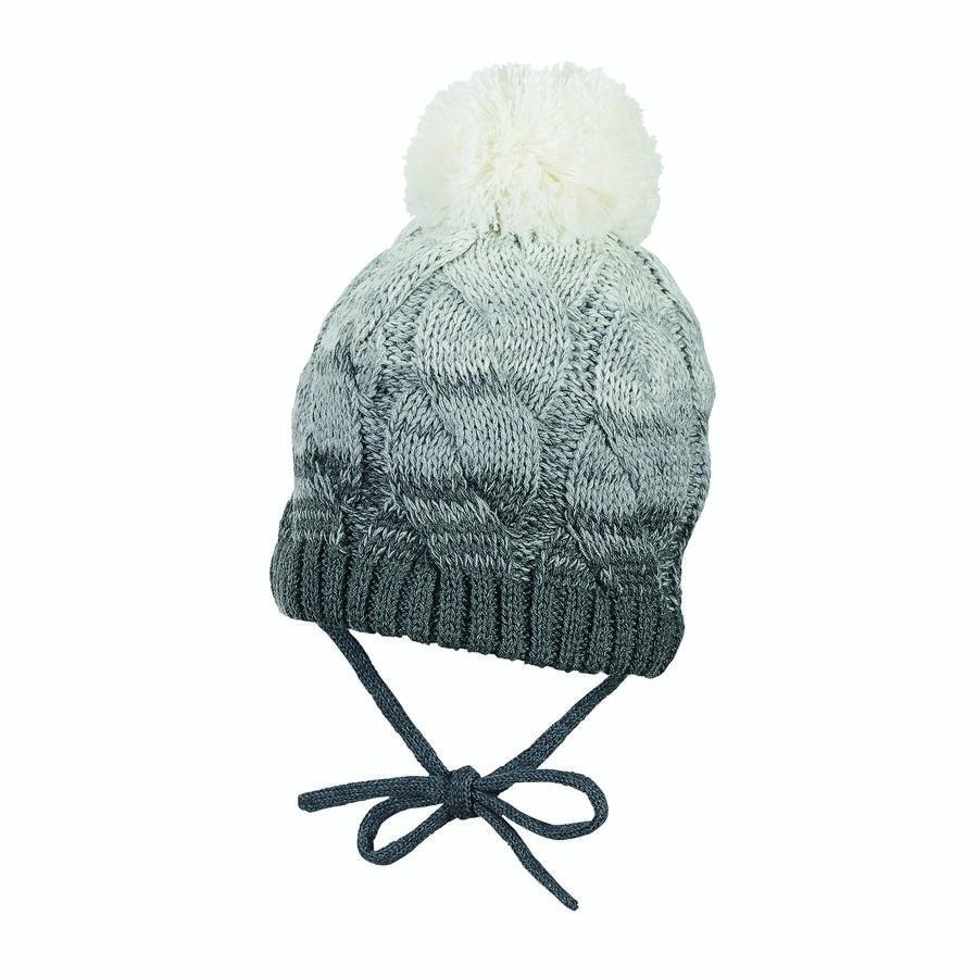 Sterntaler Bonnet tricot anthracite