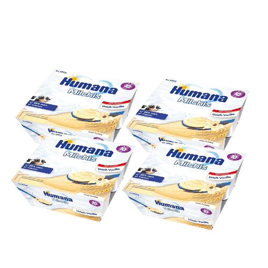 Humana Snack Milchis Grieß-Vanille 6 x (4 x 100 g) ab dem 10. Monat