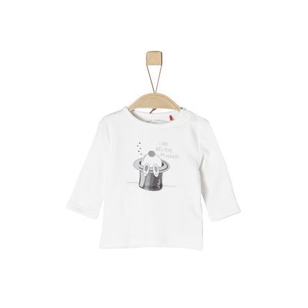 s. Olive r Girls Langærmet skjorte ecru