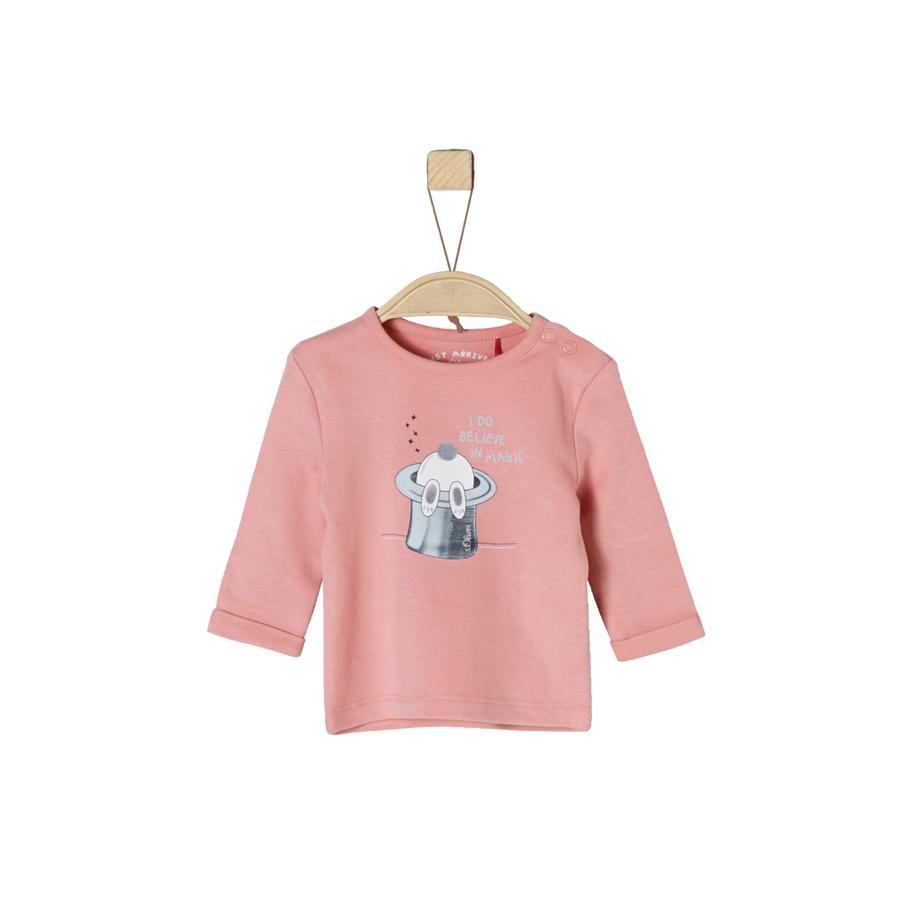 s. Olive r Girls Košile s dlouhým rukávem dusty růžová