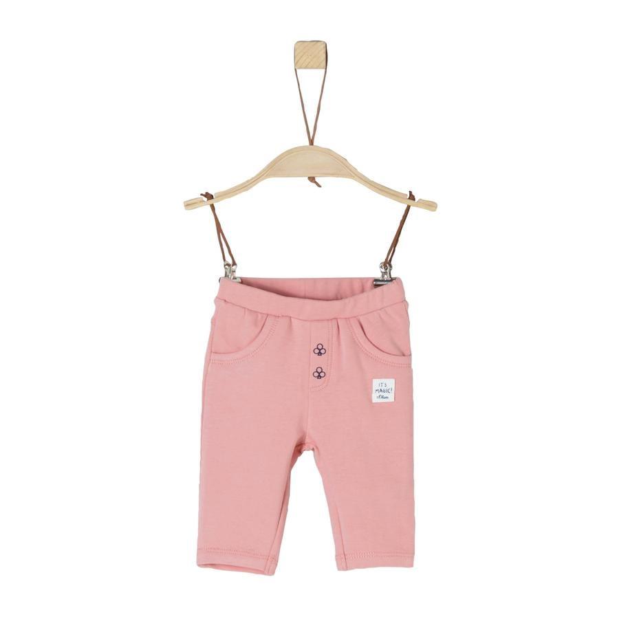s.Oliver Girl s Sweatbroeken stoffig roze