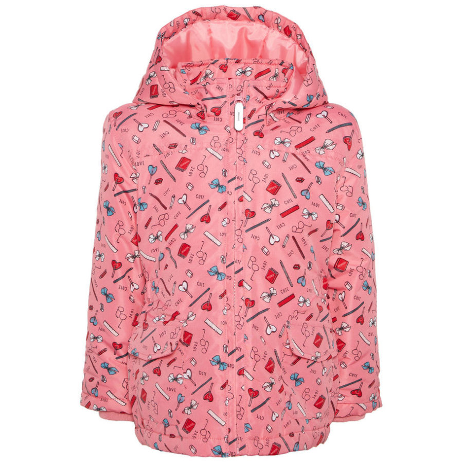 name it Girls Jacke Mello bubblegum
