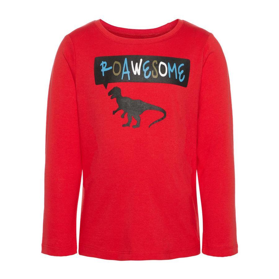 name it Girl s Koszula z długim rękawem Vagno True Red